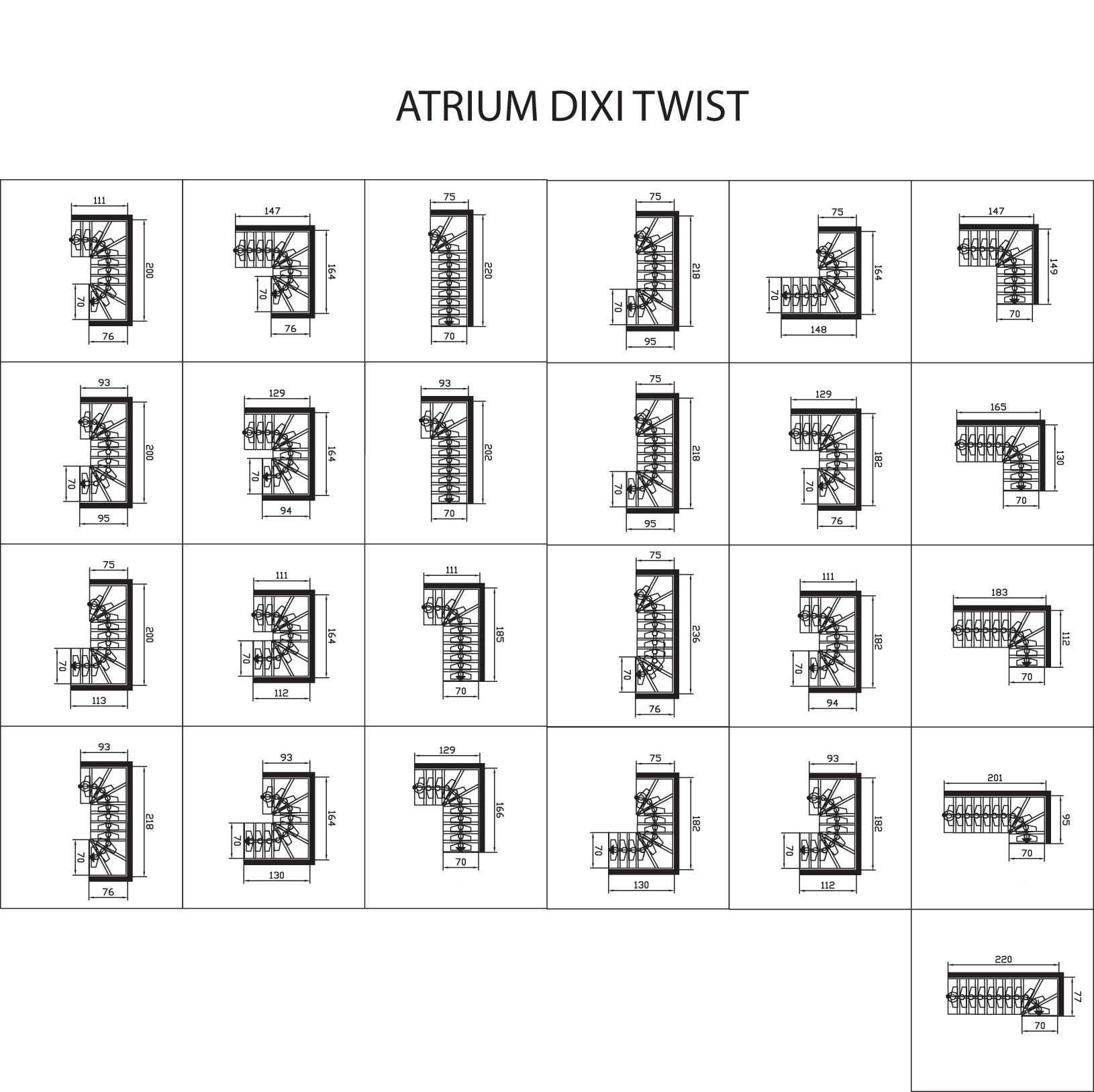 Atrium-Dixi-Twist-Skizzen