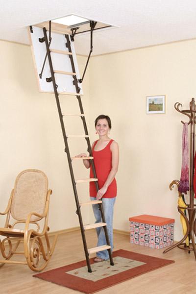 bodentreppe 4 teilig klappleiter nkr treppen shop. Black Bedroom Furniture Sets. Home Design Ideas